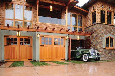door garage house wood state emphasize the in class tri doors barnstyle custom area carriage with
